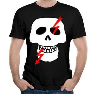 2017 핫 세일 티셔츠 남성용 여름 가을 티셔츠 코튼 반소매 캐주얼 티 프린트 스컬 온라인 스토어 Top men Men 's T-shirts