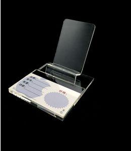 Nuovo stile grande 50PCS Nuovo stile trasparente acrilico Mobile Cell Phone Display stand rack grande schermo