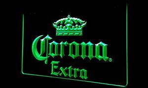 LS145-г Corona Extra Beer Bar Pub кафе неоновый свет Вход