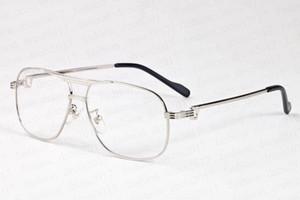 أزياء النظارات الشمسية ذات جودة عالية للرجال والنساء الإطار الكامل ذهابا نظارات الشمس الضخمة ونصف إطار مربع عدسة واضحة تأتي مع النظارات مربع