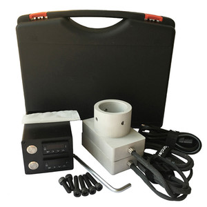 Fancier Nail 3x5 Rosin Press Aluminium Plates Dual PID Electric Nail Temperature Control Box E Nail with Heating Rods and Coil Heater