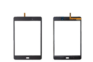 Touch Screen Digitizer Glass Lens with Tape for Samsung Galaxy Tab A 8.0 T350 T351 T355 with logo free tools 1PCS Lot