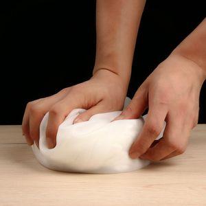 1 pc diy ferramentas de pastelaria de cozinha de silicone suave preservar amassar saco de mistura de farinha de cozinha gadget acessórios de amassar amassar