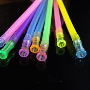 색상 식품 학년 실리콘 튜브 + 비트 입 1 미터 ---- 금연 핸들 파이프 담배 파이프 손으로 날린 Recycler 베스트, 색상 임의 배송
