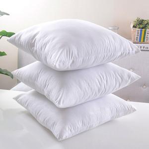 Branco Almofada Travesseiro De Enchimento De Alta Qualidade Almofada Núcleo Núcleo De Travesseiro Sofá Decorativo Sofá Cadeira Do Carro Travesseiros Assentos Almofadas Almofadas