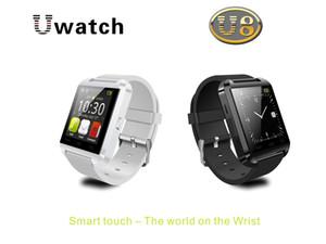 Smartwatch bluetooth u8 u relógio inteligente relógio de pulso relógios para iphone 4 / 4s / 5 / 5s samsung s4 / s5 / nota 2 / nota 3 htc android telefone smartphones 005