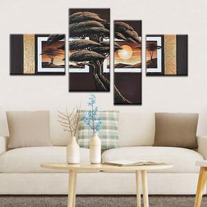 100٪ ترويج اليدوية من الغابات وفاء عالية خلاصة مشهد الجدار الديكور الفن وحة زيتية على قماش