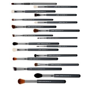 Jessup 19 adet Yüksek Kalite Pro Makyaj Fırça Seti Makyaj Fırçalar Seti Araçları T131 Kozmetik Fırçalar Ahşap Saplı Sentetik Saç