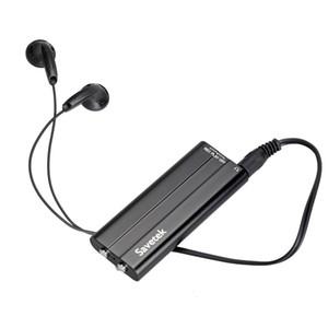 Savetek 최신 16GB 미니 클립 디지털 오디오 보이스 레코더 Mp3 플레이어 USB 블랙 컬러 센서 음성 활성화 녹음 기능