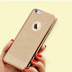 IPhone7plus flash powder TPU electroplating 6plus mobile phone sets apple 5S Samsung S7 soft protective shell package