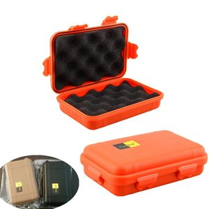 L S Size Outdoor Plastic Waterproof Airtight Survival Case Container Camping Outdoor Travel Storage Box Merry Christmas