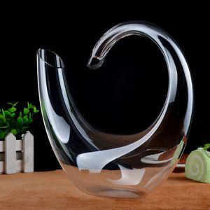 Crystal Wine Glass Cocktail Form Shaker Creative Swan Wine Decanter Pire Poleers Wine Bar Bar Set