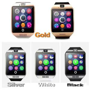 Q18 smart watch saatler bluetooth DZ09 smartwatch Saatler Kamera ile TF SIM Kart Yuvası / Pedometre / Anti-kayıp / akıllı telefon için SB-Q18
