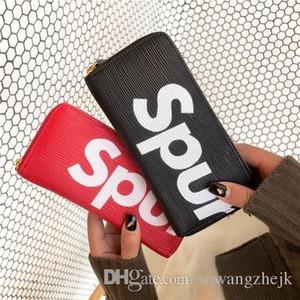 2017 Moda Feminina Titulares de Cartão de Couro PU Acolchoado Flap habitual Carteiras Femininas Bolsas Cartão Titular Coin Pouch popular
