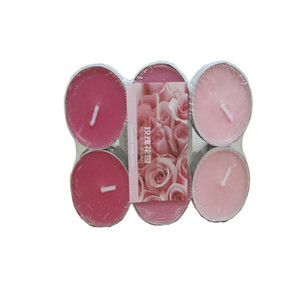 3 Hours Candle Set of 12Tea Light Candles, Scented Tealight Candle Parties Birthday Valentine's day Weddings Product Code:75-1001