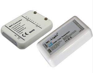 Controlador WIFI inteligente Bluetooth 12V 24V RGB / WW / CW 20A Control de sincronización de música Modo Timmer 16 millones de colores para LED Tira flexible CE ROSH
