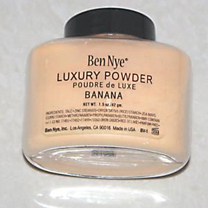 Хорошего качество Ben Nye Luxury Powder 42g New Natural Face Loose Powder Водонепроницаемый Питательный Banana Brighten Длительный с серией Num