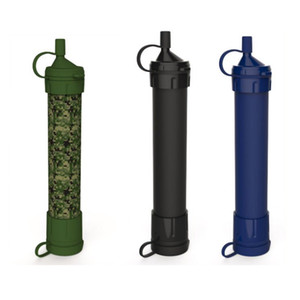 Survival Personal Water Filter pour le camping, la randonnée, la randonnée et la préparation. Purificateur portable est sans BPA et léger. Filtration