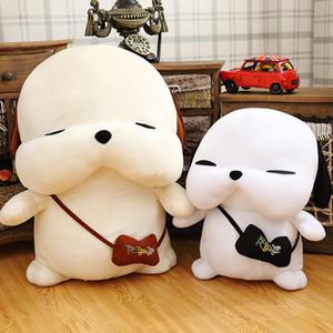 Cute Dog Plush Toy Lovely Stray Dog Doll Papa Dog Pillow Regalo de cumpleaños para niños Novia 20cm 30cm 40cm 50cm 70cm
