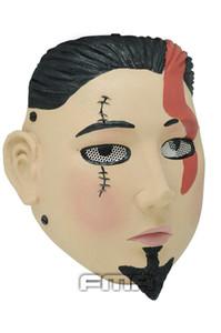 """Tactical Mask Home Wire Mesh máscara """"en man"""" COSplay partido máscara Airsoft Caça Wargame Full Hood presente de Natal do dia das bruxas"""