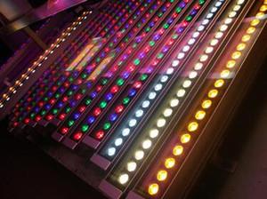 Barato iluminação ao ar livre conduziu a luz de inundação 12 W 18 W LED wall washer luz lâmpada mancha de luz barra de luz AC85-265V RGB para muitas cores 20 pcs DHL