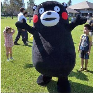 Талисман Кумамон костюм костюм реквизит медведь костюм талисмана мультфильм персонаж карнавал костюм фантазии костюм ходьба мультфильм анимация реквизит