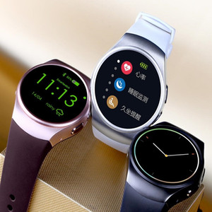 Bluetooth KW18 MTK2502C Смарт-часы Подключенные наручные часы для Samsung HTC Huawei LG Xiaomi Android-смартфоны Поддержка синхронизации вызовов Messager