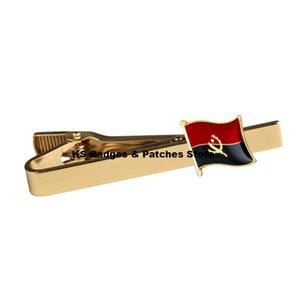 Clipe de Gravata da Bandeira Nacional de Angola