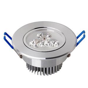 LED plafond Downlight 9W 85V-265V LED Plafonnier encastré Spot Light pour l'éclairage Accueil libre par DHL FEDEX
