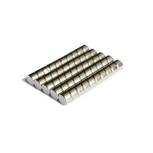 Wholesale - In Stock 200pcs Strong Round NdFeB Magnets Dia 6x4mm N35 Rare Earth Neodymium Permanent Craft DIY Magnet Free shipping