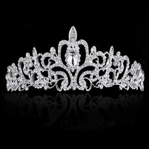 Hochzeit Kopfschmuck Braut Kopfschmuck Hochzeit Kopfschmuck Heiße Hochzeit hochwertige Diamant Ornament Braut Kopfschmuck Mode Hochzeit Elegante Krone