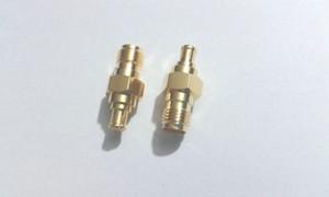 20 adet Altın SMA dişi JACK MCX erkek tak düz adaptör konnektörü