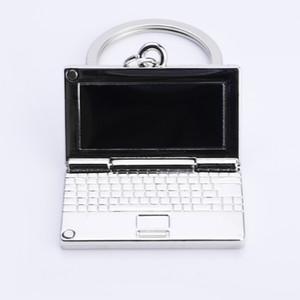 computer Key Chain Classic Novelty Souvenir Metal Apple Keychain Creative Gifts Key Ring Trinket for Men Women Accept LOGO