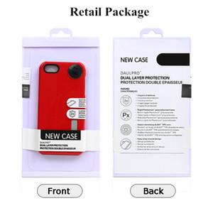 Para o Caso Armadura iPhone 7 2 em 1 híbrido PC + TPU fosco antidetonante capa protetora Com pacote de varejo para LG G3 G4 G5 Moto G2 Iphone6