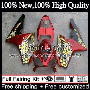 Body For Triumph Daytona 675 02 03 04 05 06 07 08 7PG12 Daytona 675 2002 2003 2004 2005 2006 2007 2008 Rojo dorado 02-08 Carenado Carenado