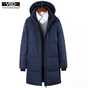 VSD 2017 Winter Down Jacket Men's Fashion Thick Warm Casual Zipper Waterproof Parkas Coat High Quality Clothing Outerwear VS809