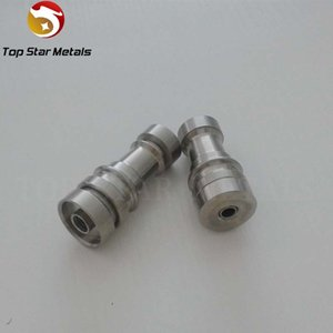 wholesale Universal Domeless Infiniti Titanium Nail 14mm & 18mm Adjustable Male or Female