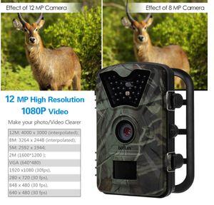 Trail Camera Hunting Game Camera CT008 Infrarrojo, versión nocturna, pantalla LCD de 2.4 pulgadas, sensores PIR, diseño protegido contra salpicaduras de agua IP54 out242