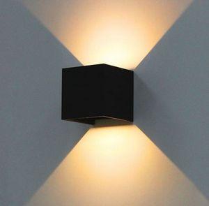 Lampada da parete esterna impermeabile 8W LED Source Up And Down Lighting Modern Minimalist Indoor Outdoor Portico da giardino