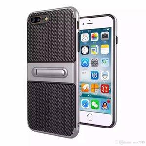 Viajante do telefone móvel shell stent de fibra de carbono 2 em 1 tampa de proteção contra queda para samsung j3 j5 j7 j310 j510 j710 j320 j520 j720