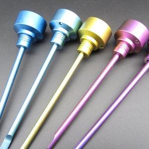 DHL Libre Coloré Sans Domaines GR2 Titane Carb Cap 14mm 18mm Ongles Mâles Et Femelles VS Céramique Quartz Banger Nail pour Bangs En Verre