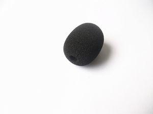 Frete grátis Microfone windscreen Espuma Cobre com 6mm de Diâmetro do Furo e 30mm de comprimento interno 15 pçs / lote frete grátis