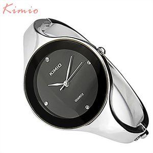 2018 Il nuovo modo di Kimio Orologi mujer braccialetto dell'orologio quarzo orologio delle signore della donna Orologi Orologio Donna Dress Relogio Feminino k2682