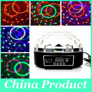 RGB Effect Light 25W Laser Party DJ Crystal Magic Ball KTV Disco Bar Stage Digital Christmas Projectors Lamp Home Entertainment