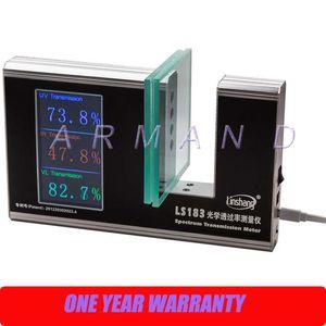 Medidor de Transmissão de Espectro LS183 Valores de transmissão UV Visível e Infravermelho