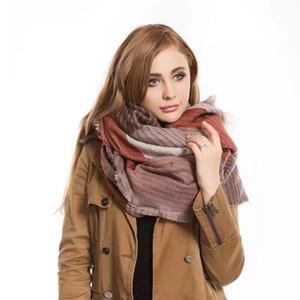 Poncho sciarpa impionbatura geometrica Scialli e sciarpe in cachemire Warmful Pashmina Fall kerchief Winter Cape Women Fashion