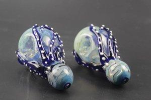 2017 neue Design mini pfeifen Octopus Hohe bor silikon Löffel Tierform Spezielle Berauschende Glaswasserleitungen