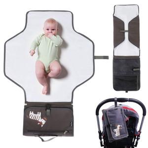 아기 기저귀 변경 매트 기저귀 저장 패드 패드 가방 변경 방수 여행 역 키트 변경 기저귀 클러치