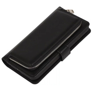Card Slots Holder Wallet Zipper PU Leather Cash Pouch Case Cover Skin for Samsung GalaxyS5 S6 S6 EDGE S7 S7 EDGE IPHONE 6 6PLUS