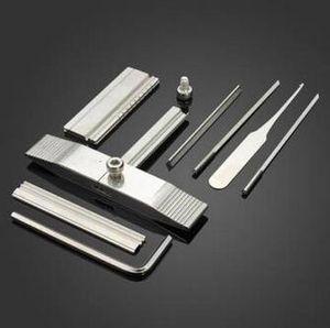 Оловянная фольга отмычку инструменты для KABA замки слесарные инструменты Набор